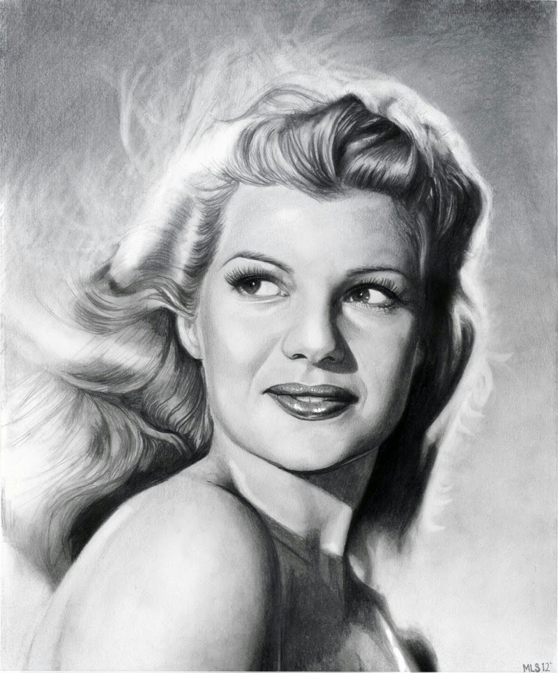 13-Rita-Hayworth-Martin-Lynch-Smith-MLS-art-Celebrity-Drawings-www-designstack-co