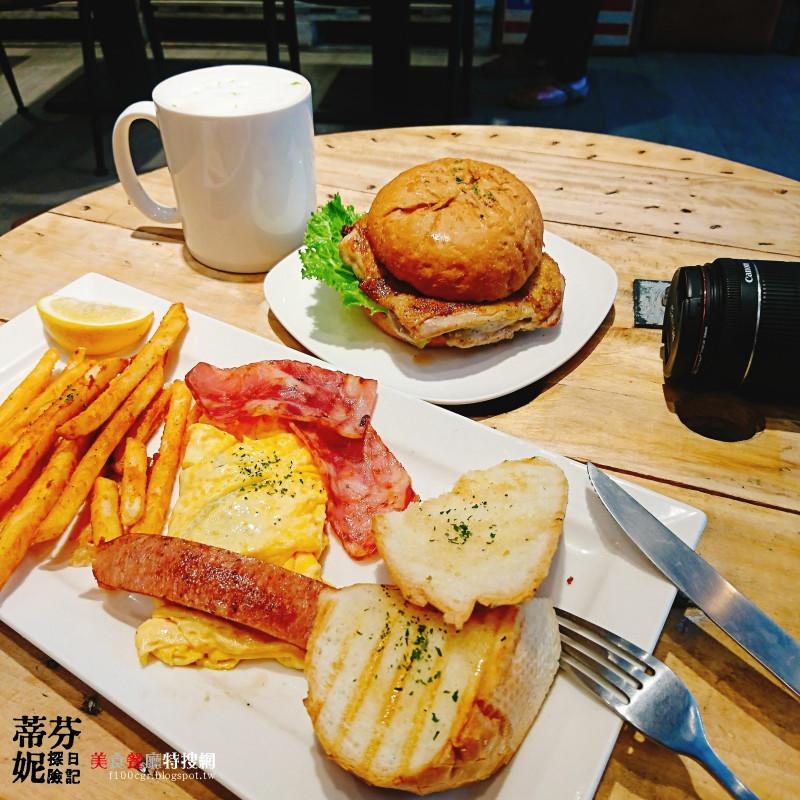 [北部] 台北市信義區【豐滿三明治】四四南村旁美式工業風好吃早午餐