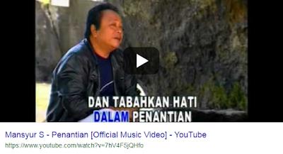 Download Lagu Mansyur S Penantian Mp3 Gratis