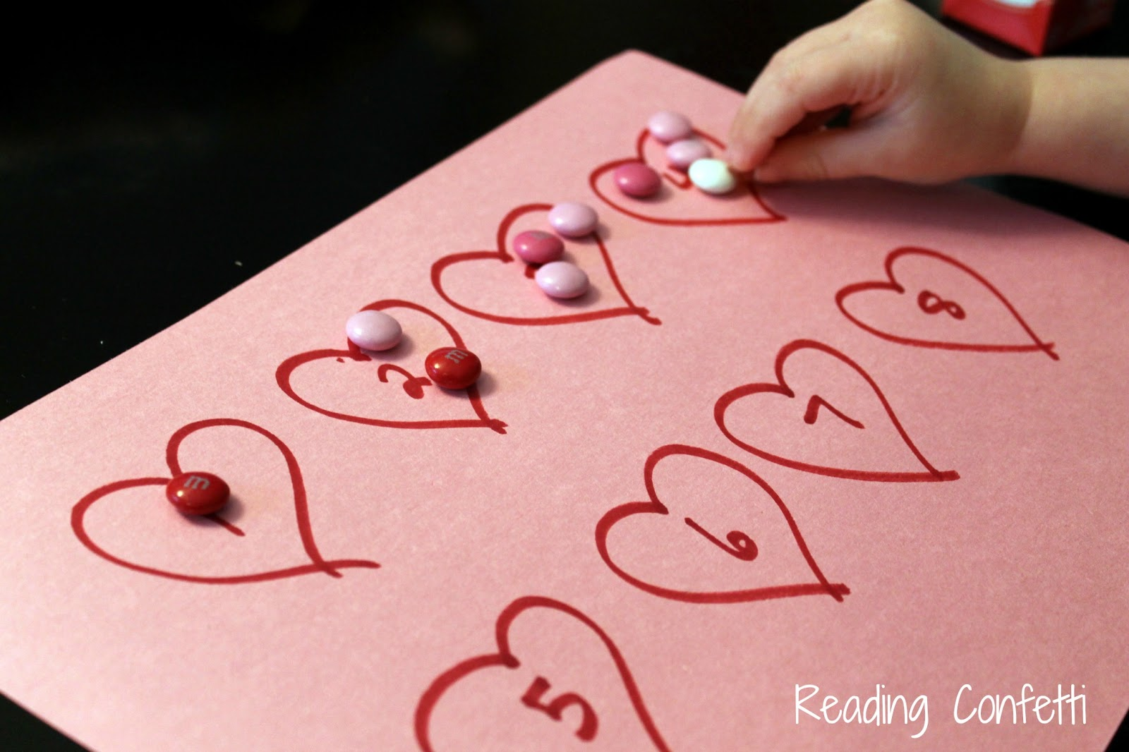 Valentine S Day Math For Toddlers And Preschoolers Reading Confetti