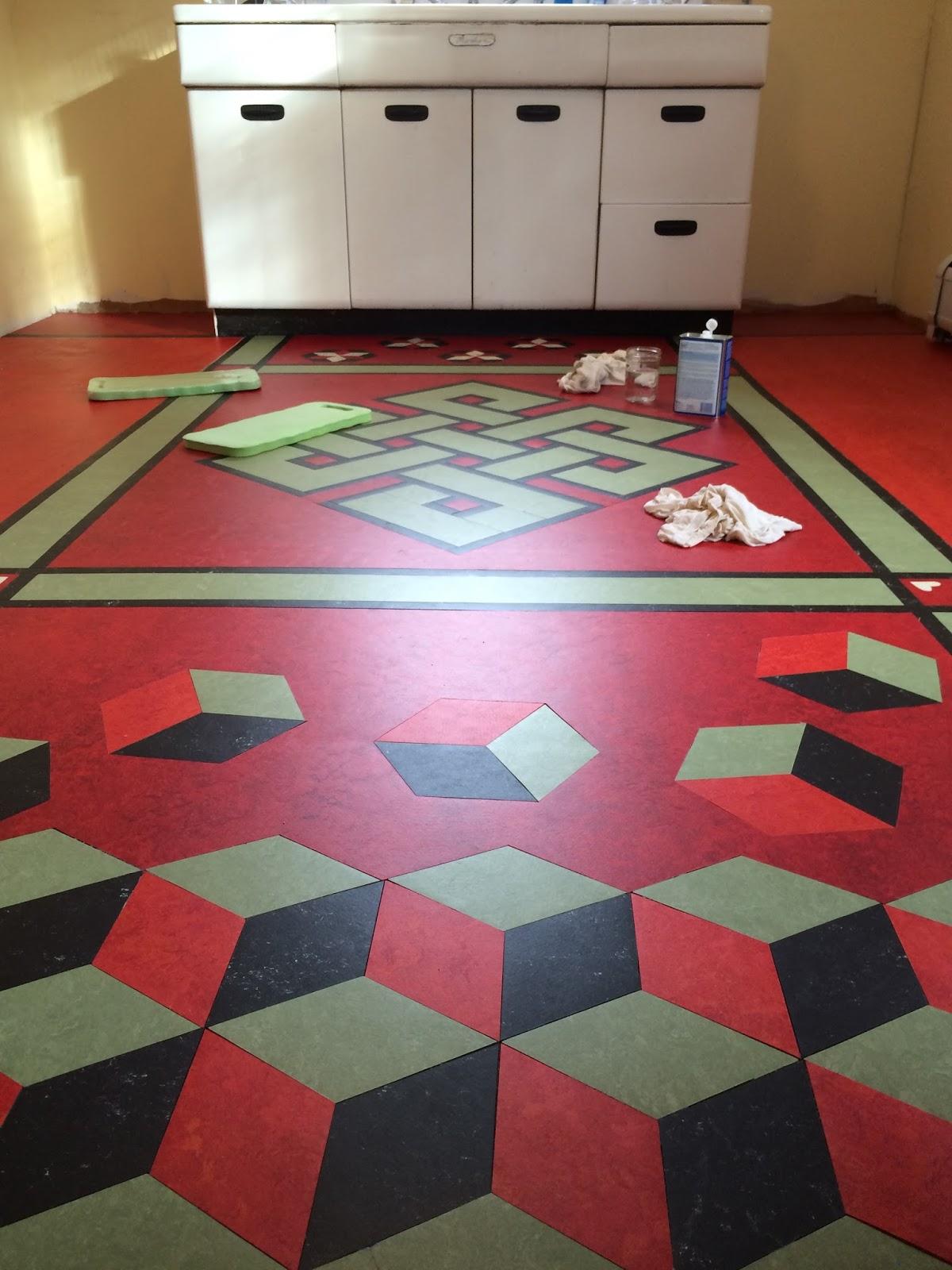 Michelina 39 s workroom cosy kitchen floor too for 100 lb floor roller rental