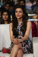 Kyra Dutta in a Deep neck Small Dress at Shamanthakamani pre release function ~  Exclusive 078.JPG