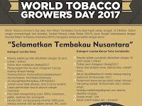 """Lomba jurnalistik """"Selamatkan Tembakau Nusantara"""" berhadiah puluhan juta rupiah"""