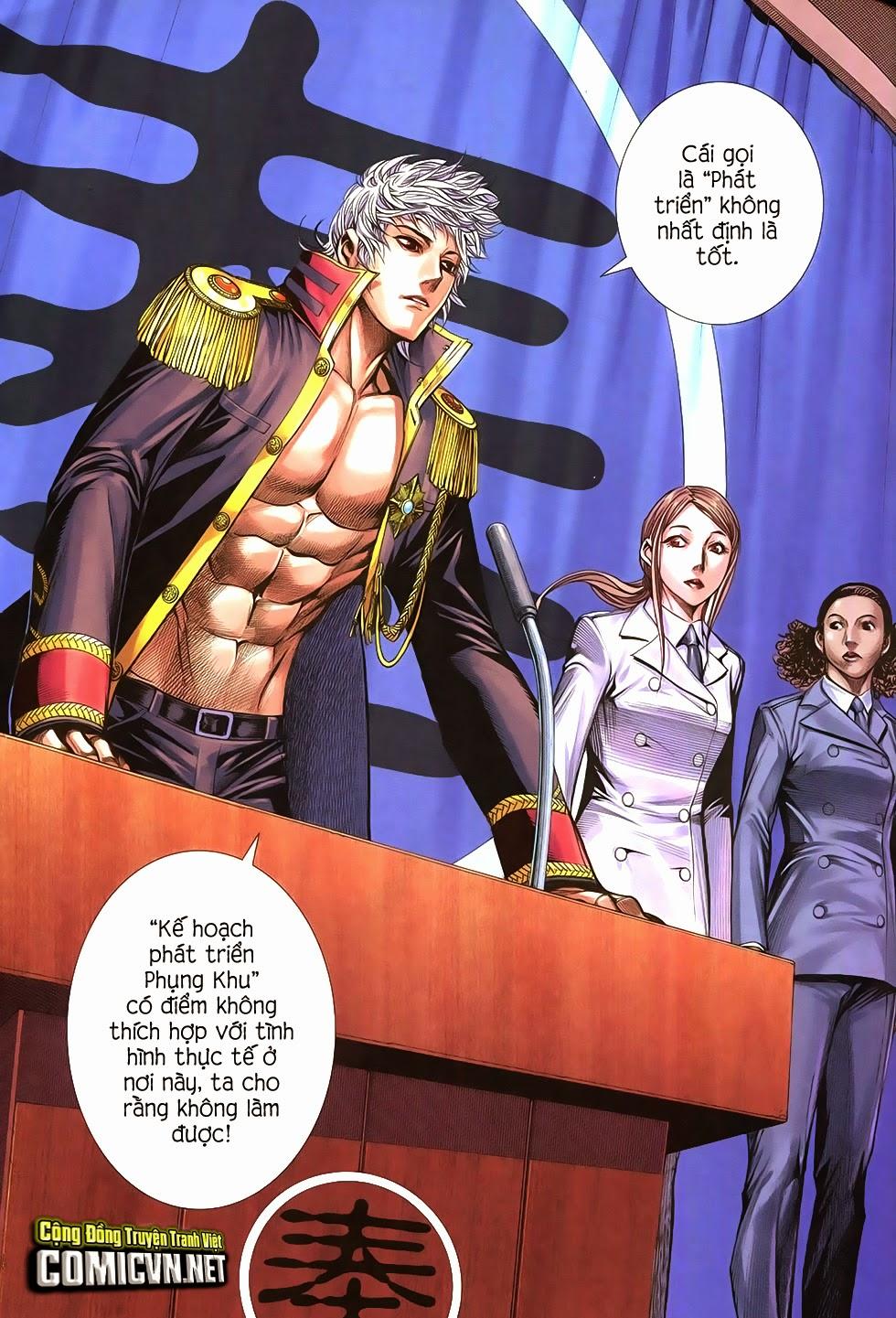 Đại Quân Phiệt chap 21 trang 31