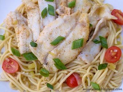 Perch Spaghetti