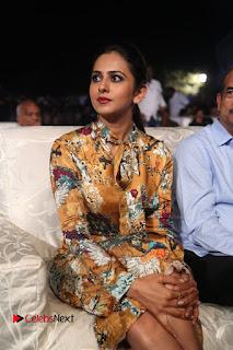 Actress Rakul Preet Singh Stills in Short Dress at Dhruva Pre Release Function  0049.JPG