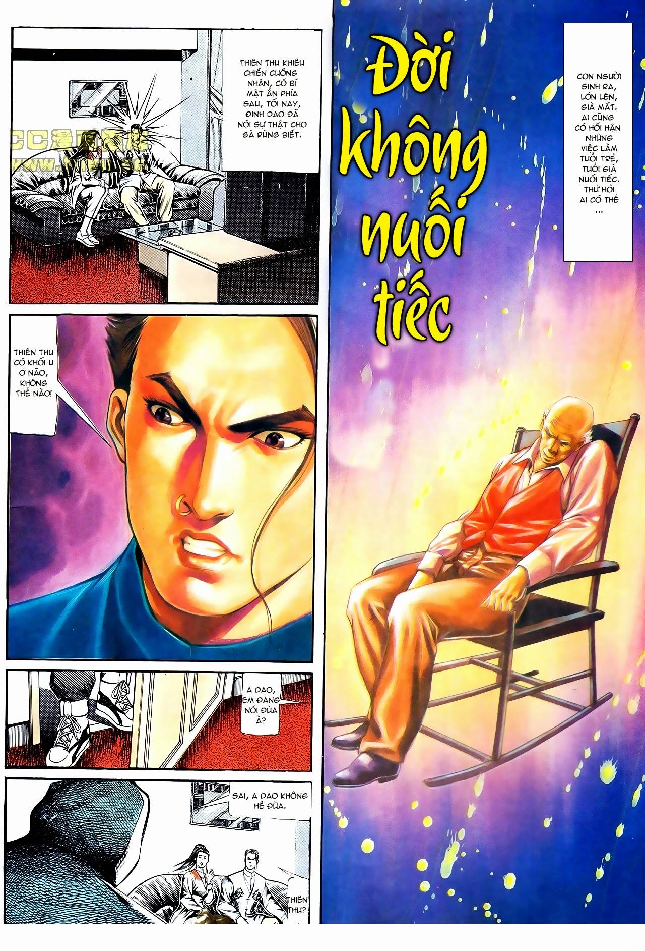 Người Trong Giang Hồ chapter 111: đời không nuối tiếc trang 8