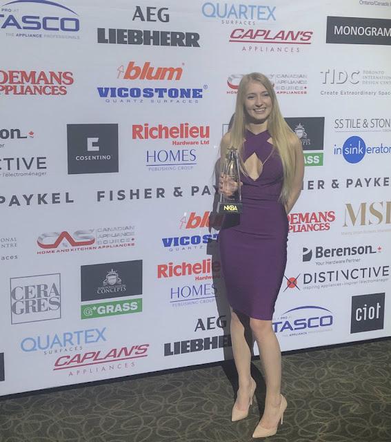 Toronto Custom Concepts Brittany Oakley Designer Award
