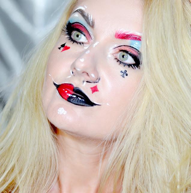 арт-макияж на хеллоуин