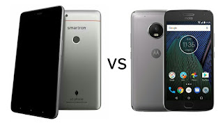 Smartron srt.phone vs Moto G5 Plus