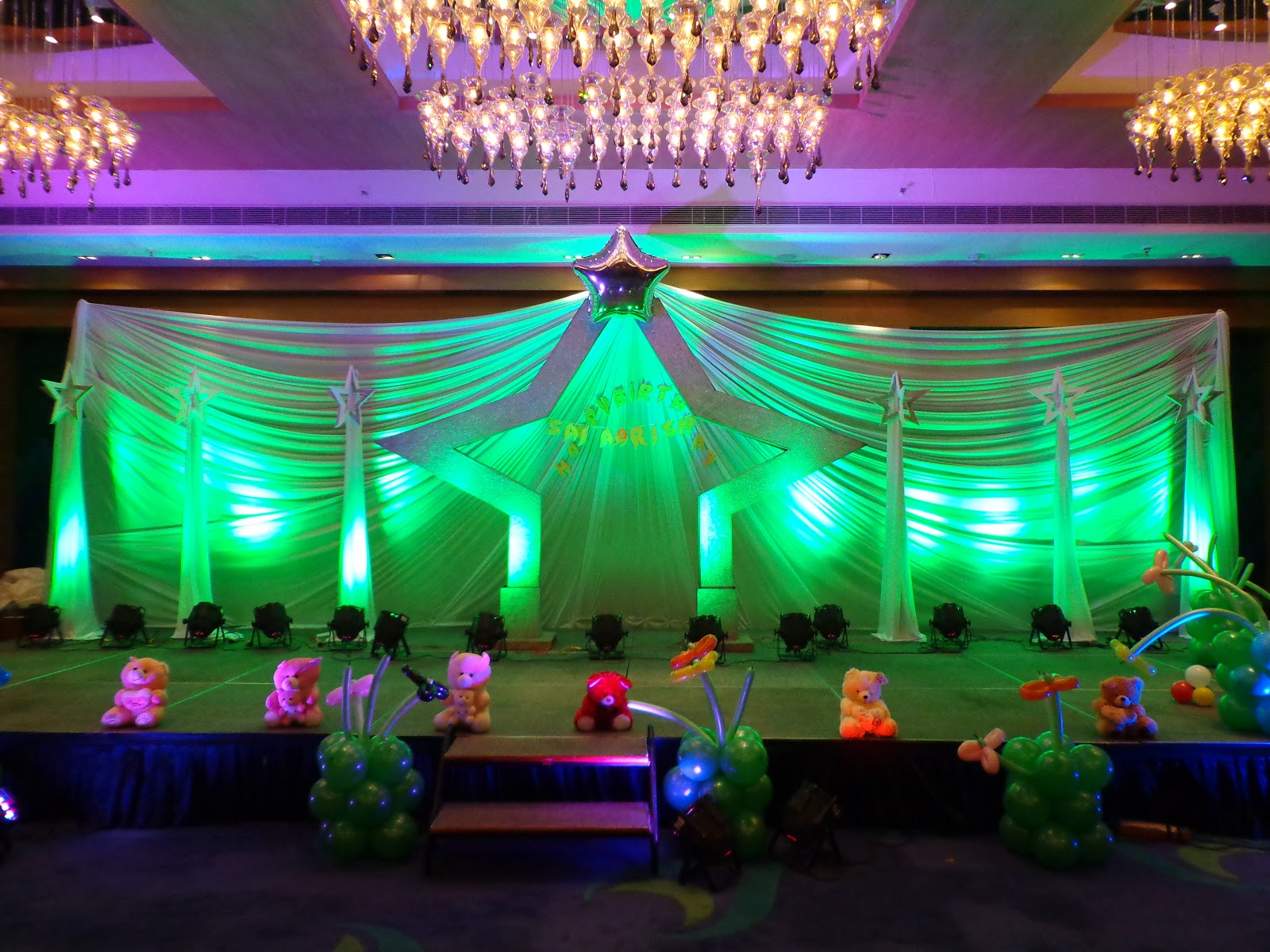 . Birthday party decorations Boys   Girls Themes in hyderabad