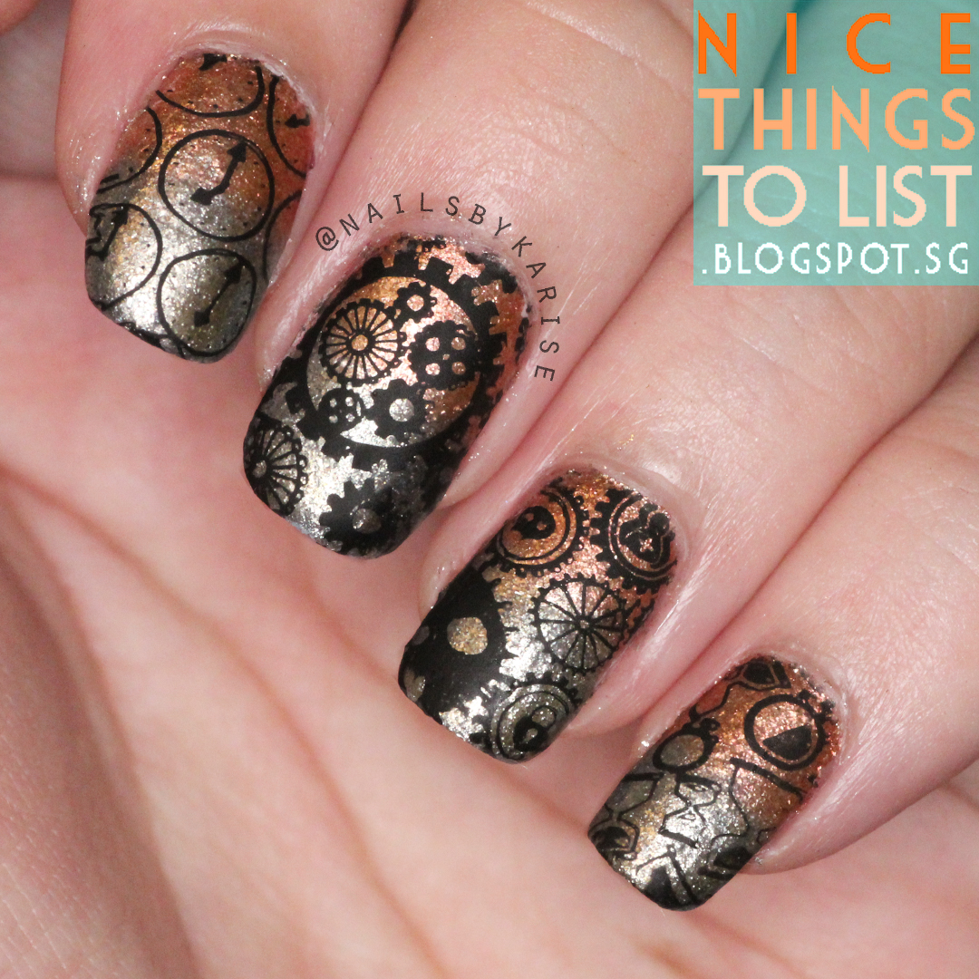 Time Is Running Out Stamping With Bpx L023 Nice Things To List