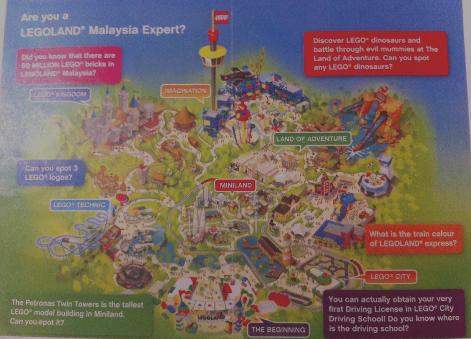 Teh C Kosong: LEGOLAND MALAYSIA
