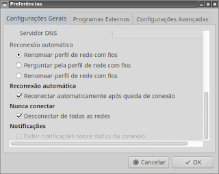 Remova Network Manager, Wicd é melhor