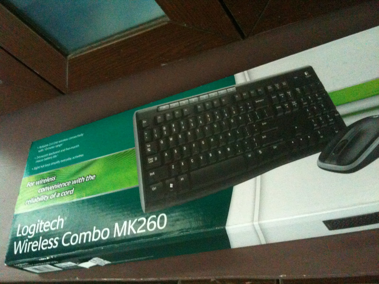 d4ac1951bf9 Random Thoughts: Review: Logitech Wireless Combo MK260