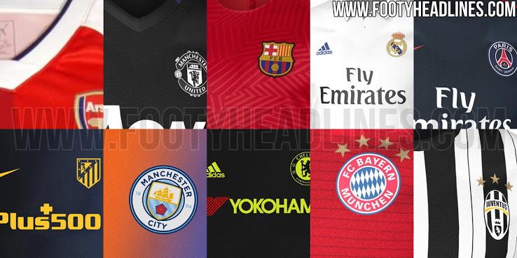 nike personnalisé dunks à vendre - Maillot Foot 2016-17 - Kits Overview 2016-17- All Leaked and ...