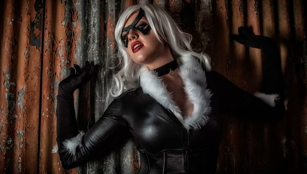 Callie Cosplay sexy Black Cat