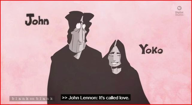 John Lennon the Beatles animatedfilmreviews.filminspector.com