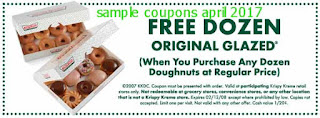 free Krispy Kreme coupons for april 2017