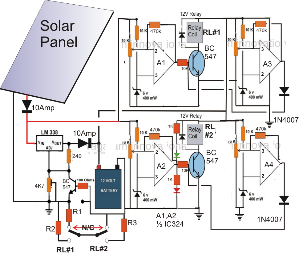 Solar Panel Controller Wiring Diagram Schematics Diagrams Power Electrical Components Free Engine Image For User Manual Download Charge