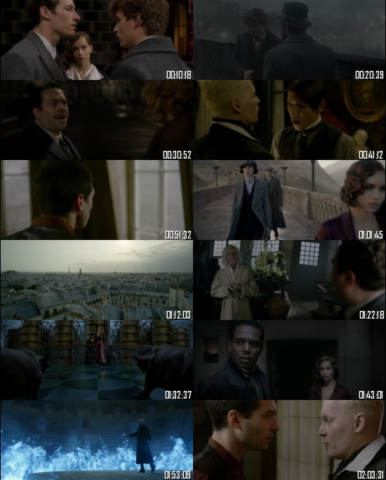Fantastic Beasts The Crimes Of Grindelwald 2018 WEB-DL 720p 480p Dual Audio Hindi English Full Movie Download