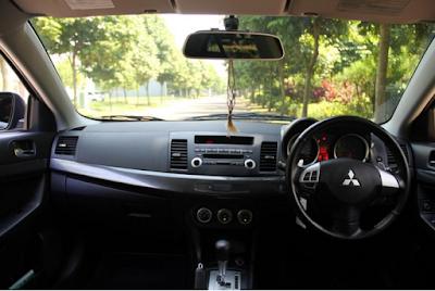 Interior Mitsubishi Lancer EX 2.0