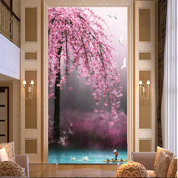 Bán file in tranh giá rẻ _Tranh hoa mùa xuân .
