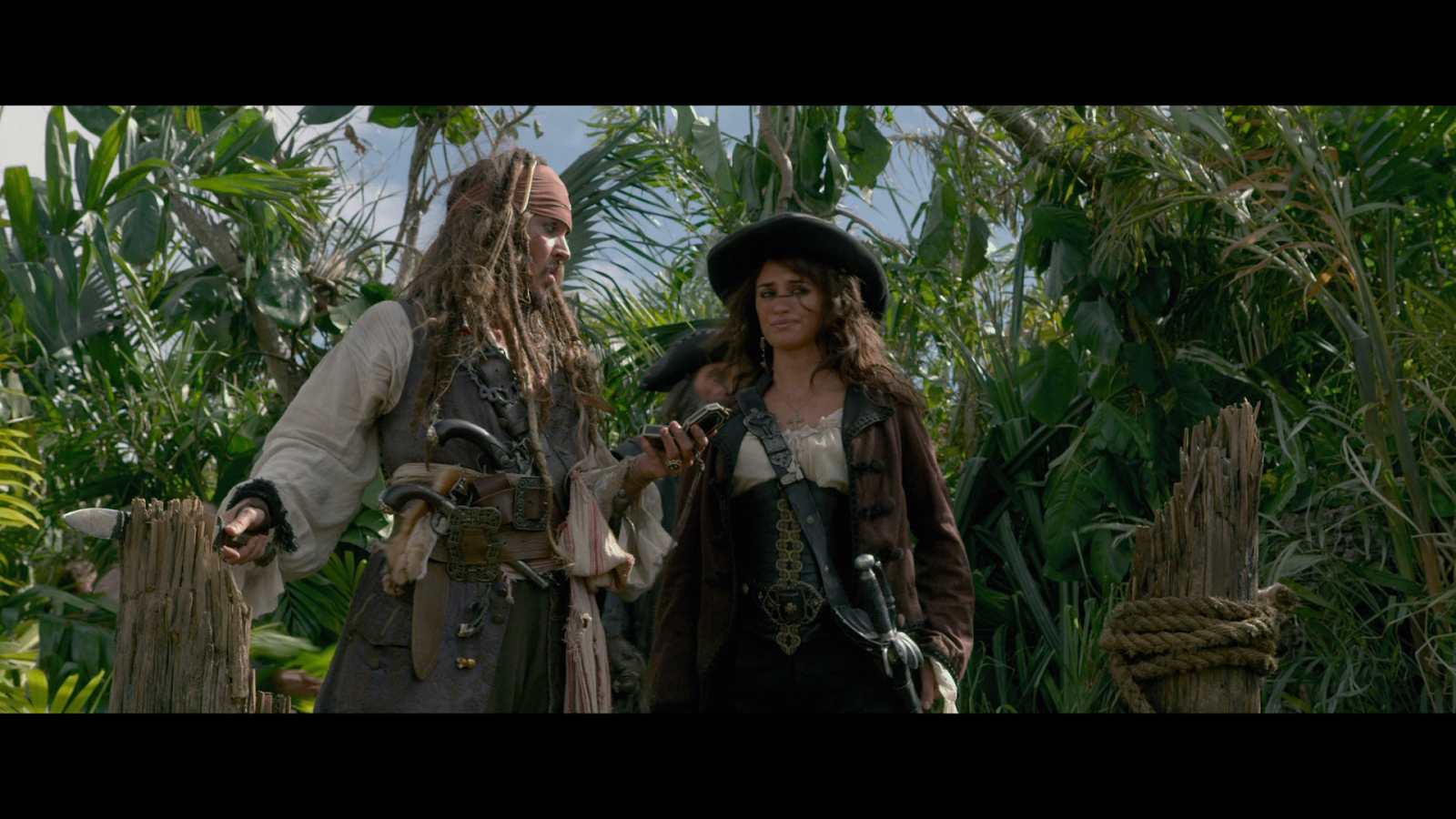Piratas del Caribe 4: Navegando en Aguas Misteriosas (2011) BRRip Full HD 1080p Latino - Ingles captura 3