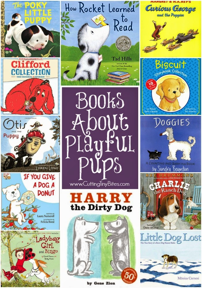 Books About Dogs for Preschool