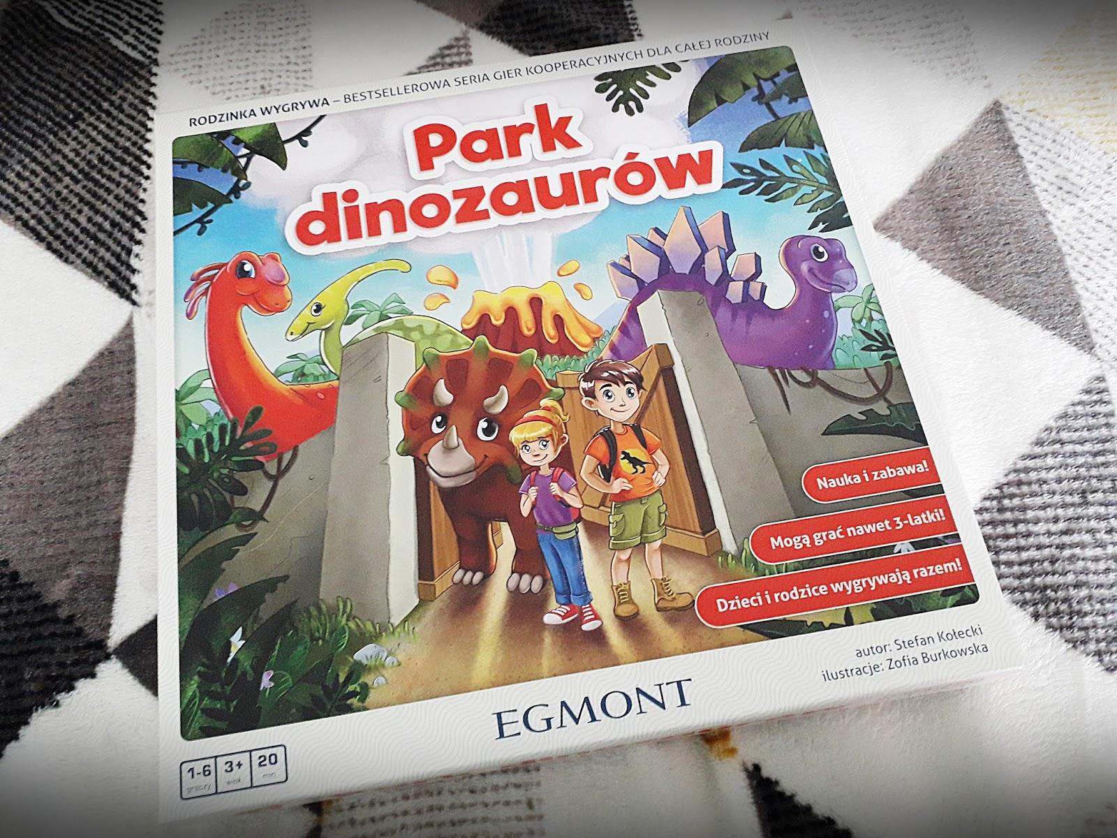 Park Dinozaurów. Gra na majówkę.