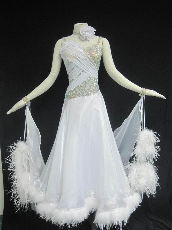 Waltz Dress on Foxtrot Dance Costumes