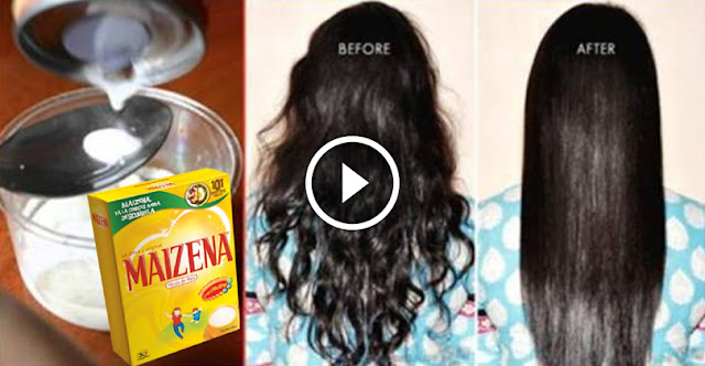Regenerating Hair Mask With Cornstarch, Try It You Will Be Surprised By The Results!