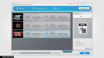 برنامج HD Video Converter Factory Pro Giveaway