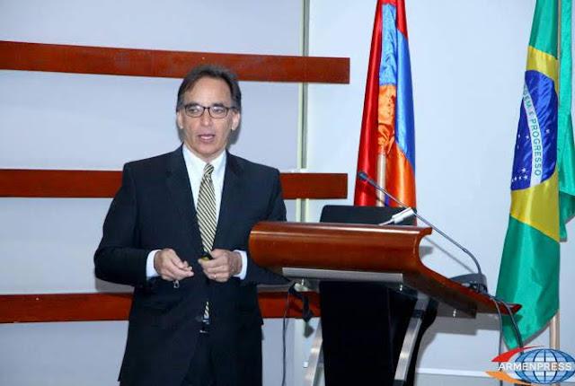 Brasil espera desarrollar relaciones con Armenia