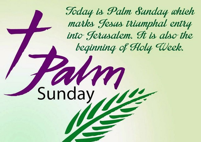 Happy Palm Sunday Quotes Images And Messages For Facebook Whatsapp