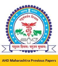 AHD Maharashtra Previous Papers