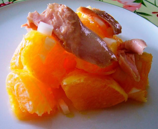 Ensalada de Naranja y Atún