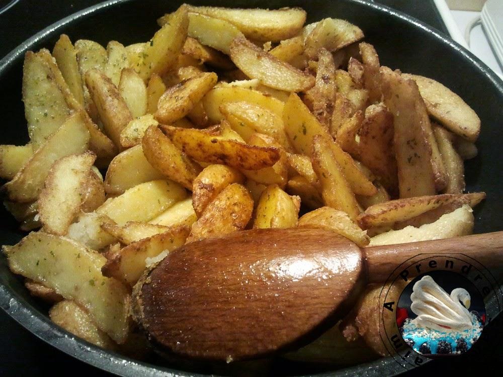 Potatoes fait maison à la poêle
