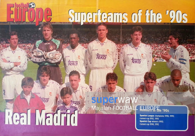 Poster Tim Real Madrid 1995