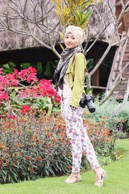 Model Hijab Tahun 2015