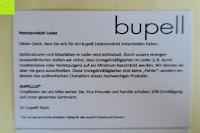 Information: bupell Flache Portemonnaie mit herausnehmbarem Ausweisfach - Aus echtem Leder - Seitlichem Münzfach mit Reißverschluss - Schwarz