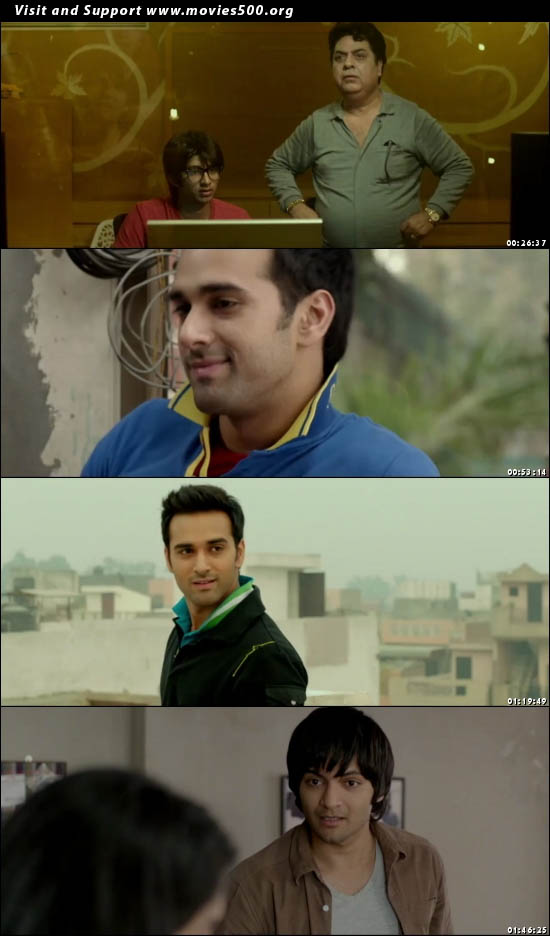 Fukrey 2013 Hindi movie DVDRip 375MB 480P at movies500.org