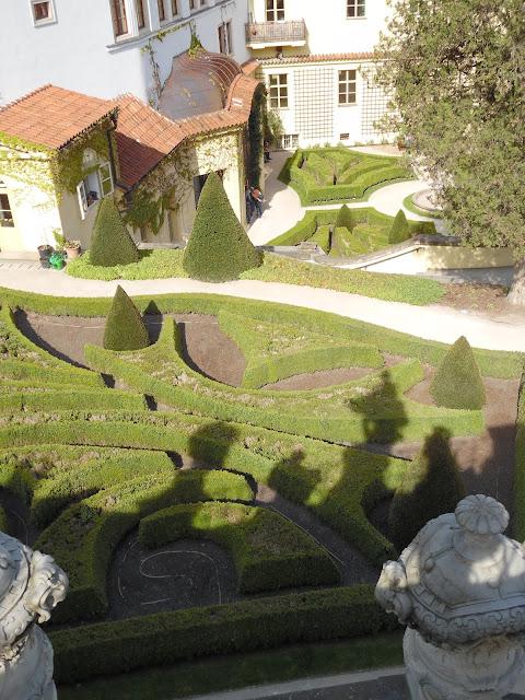 partery bukszpanowe, ogród barokowy