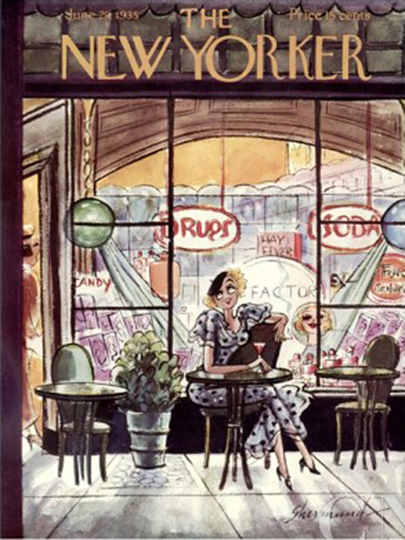 The New Yorker june 1935 cover
