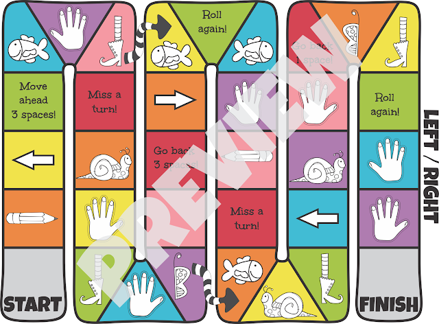 Lef-Right-Board-Game