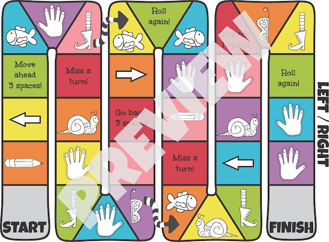 Lef-Right-Board-Game