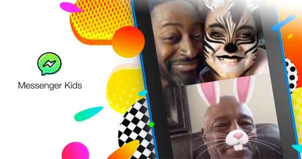 Imagen de Messenger Kids en messengerkids.com