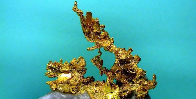 Minerales, oro y geologia
