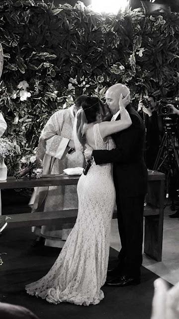 Gretchen casamento com Carlos Marques Vestido de noiva