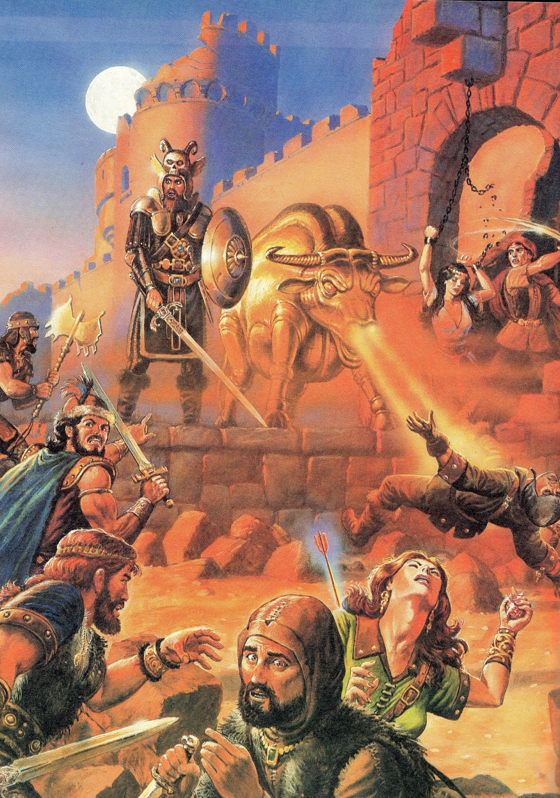 Dungeon Master's Guide 2nd Edition Art